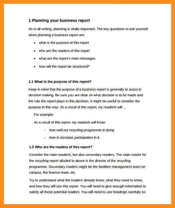 13+ formal report template | resume setups