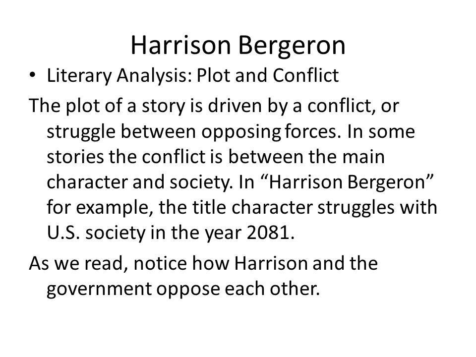 Critical analysis essay harrison bergeron - Essay Academic Writing ...