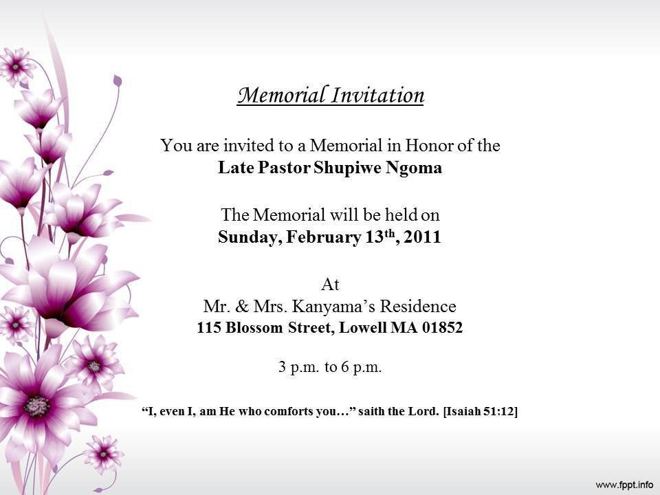 10 Best Images of Funeral Program Stationery - Funeral Memorial ...