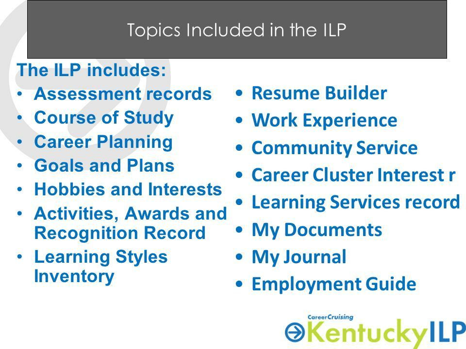 Individual Learning Plan ILP Please sign in & get PowerPoint ...