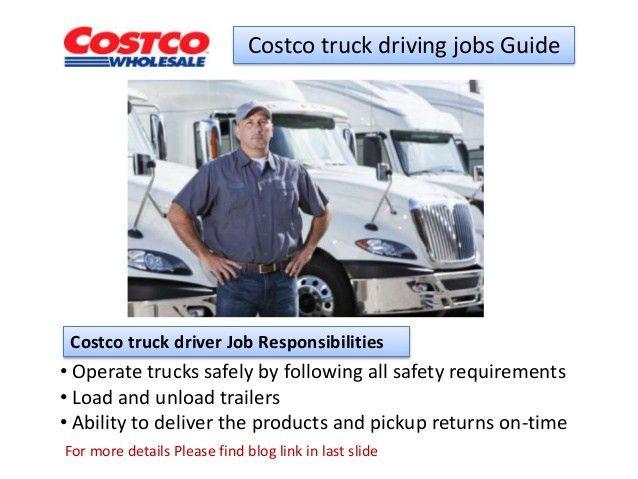 Costco truck driving jobs