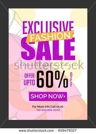 Creative Poster Banner Flyer Design Best Stock Vector 272172116 ...