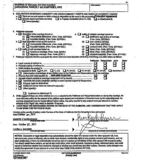 Best Photos of Joke Divorce Papers - Free Printable Fake Divorce ...