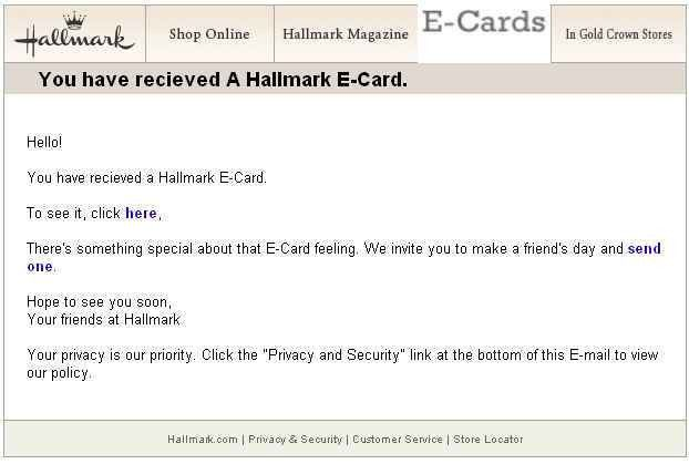 Holiday Email Greeting Cards Bring Infections as Gifts ...
