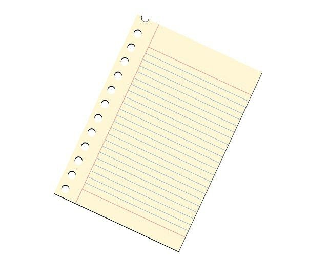 Free illustration: Note Paper, Notepad, Ruled, Lined - Free Image ...