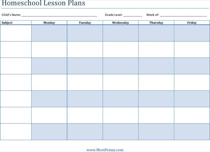 Printable Lesson Plan Template Free Printable Lesson Plan - Printable lesson plan template