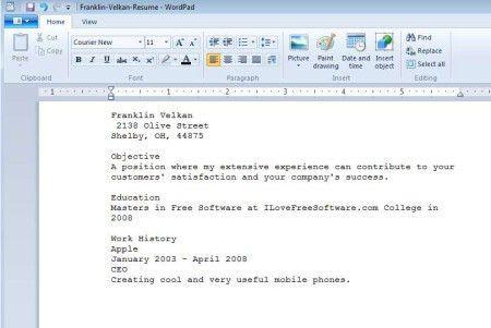 sumptuous design resume setup 3 resume set up resume example ...