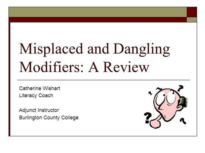 Dangling-And-Misplaced-Modifiers |authorSTREAM