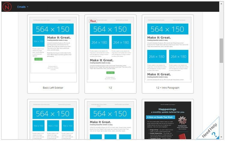Drag & Drop Email Builder - Net-Results Marketing Automation