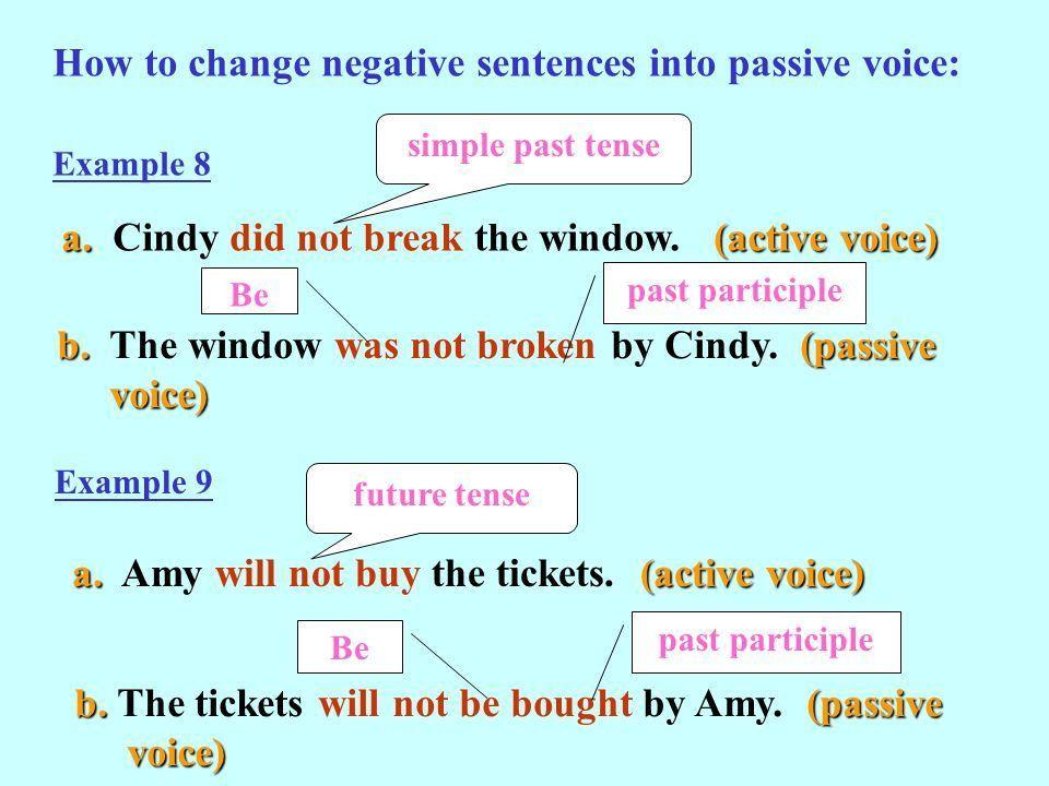 Active Voice (主動式) VS Passive Voice (被動式). - ppt video ...