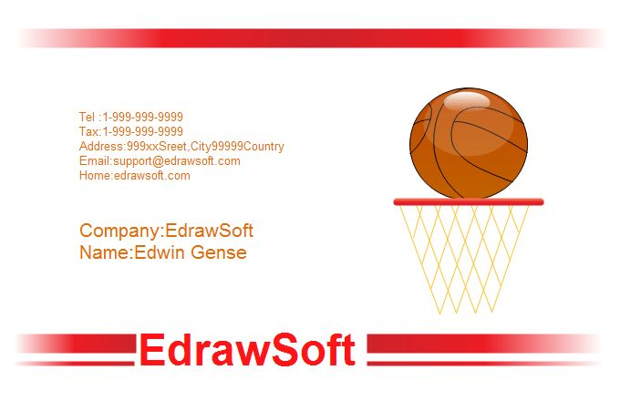 Sport Business Card Templates