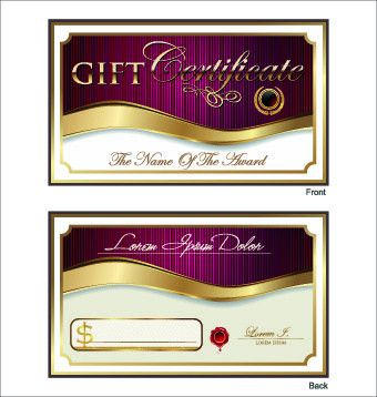 Wedding gift certificate free vector download (4,857 Free vector ...