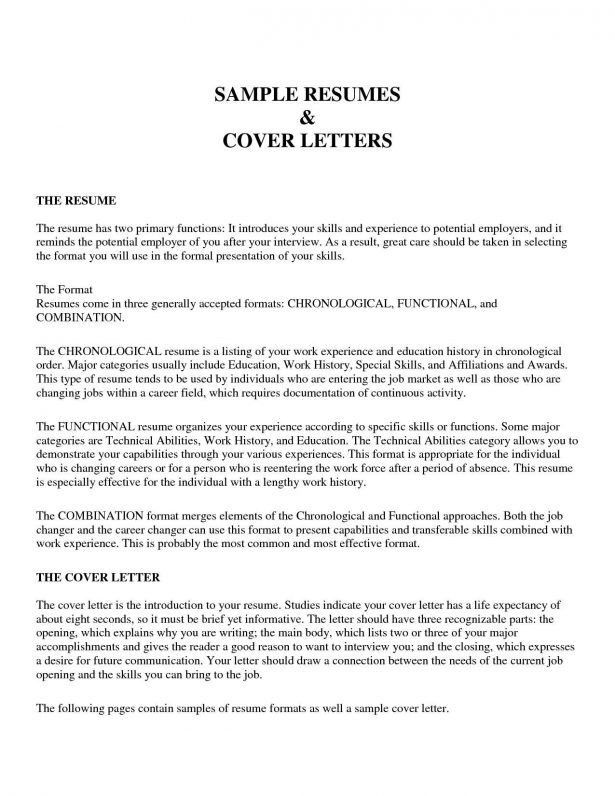 Curriculum Vitae : General Cover Letter How To Start Off A Resume ...