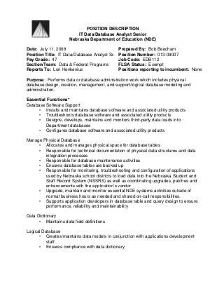 create my job description. data analyst salary data analyst job ...