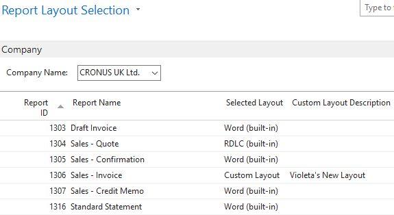 Dynamics NAV: Custom Document Layouts - ProStrategy | ProStrategy