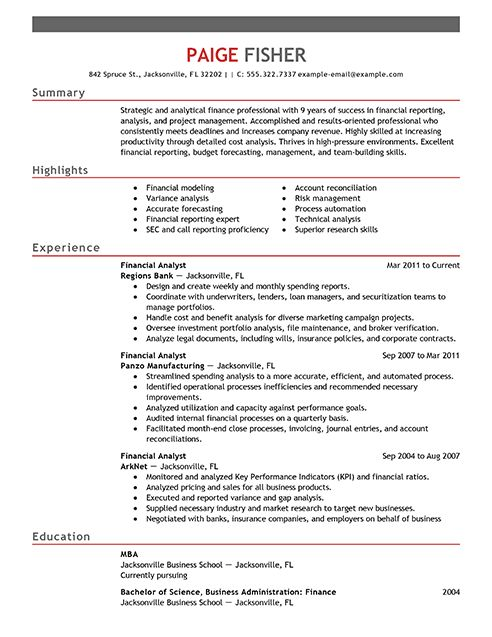 financial services representative resume. international financial ...