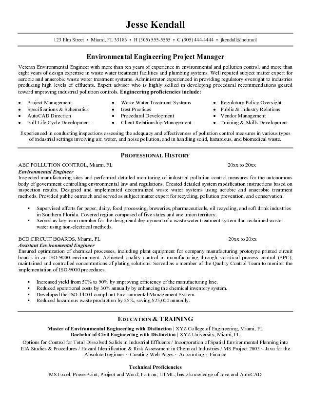 download environmental engineering cover letter