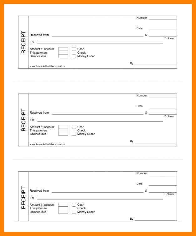 7+ free printable receipt templates | day care receipts