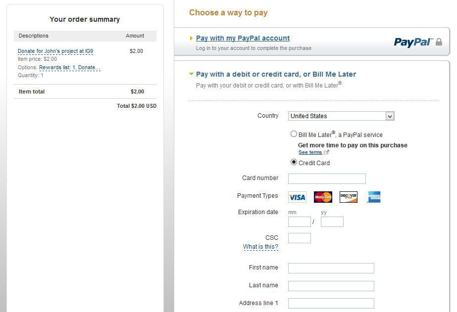 php - Payment with Paypal and other credit card options - Stack ...