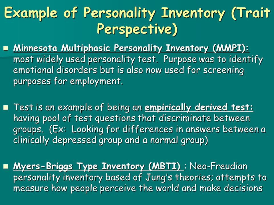 Personality and the Trait, Humanistic, and Social Cognitive ...
