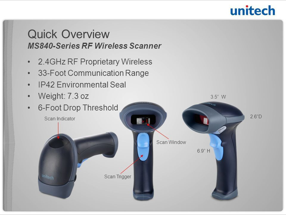 2.4 GHz RF Cordless Handheld Barcode Scanner Low-Cost Cordless ...