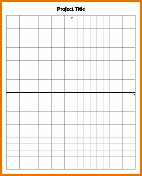 8+ graph paper template free | Itinerary Template Sample