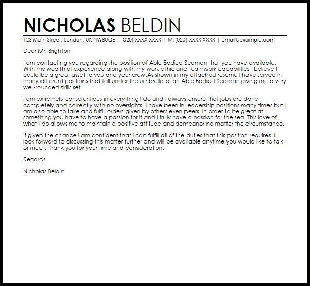 Student Council Adviser Cover Letter