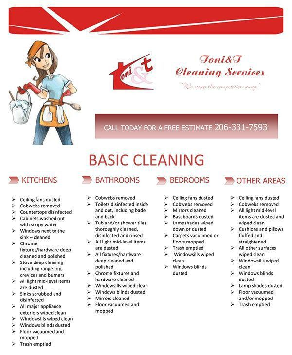 Cleaning Service Contract. Free Cleaning Services Contract ...