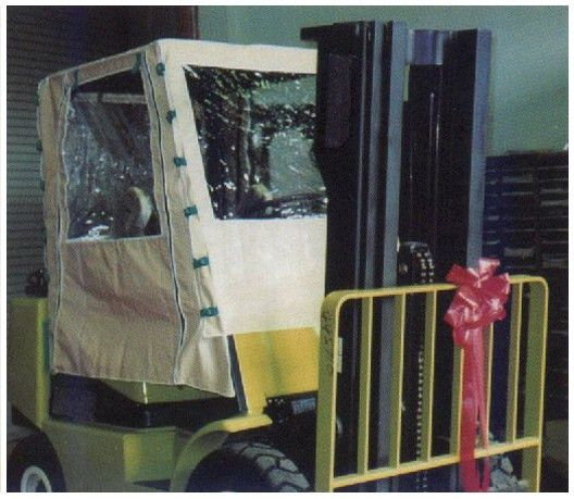 Forklift Cab Covers | Forklift Cab Covers