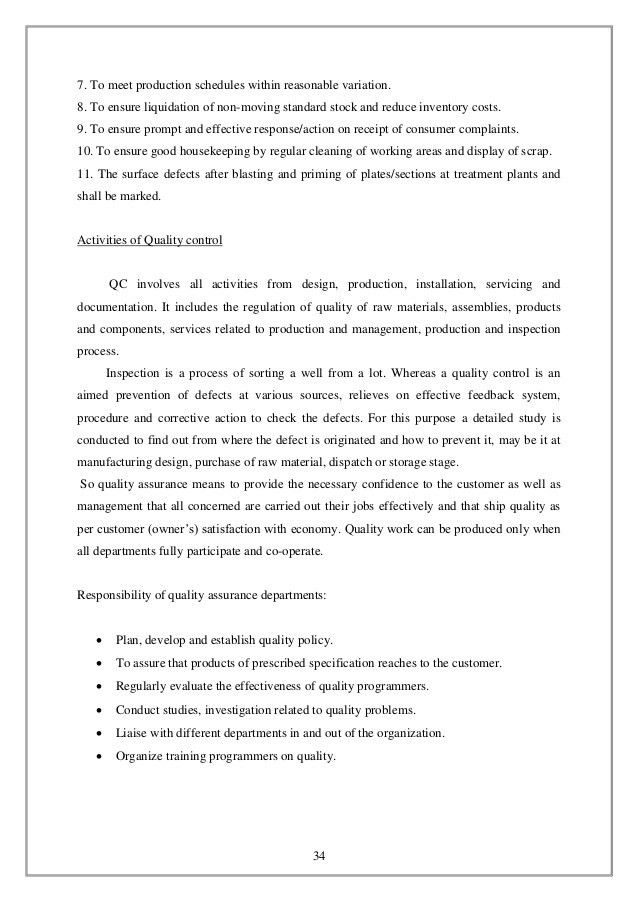 HSL report project