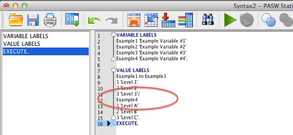 Using Syntax to Assign 'Variable Labels' and 'Value Labels' in ...