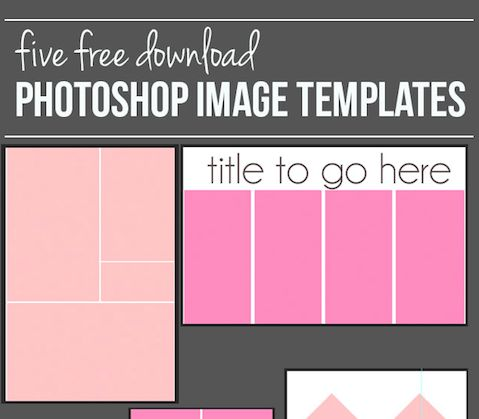 How to create a Photoshop Image Template and free downloads ...