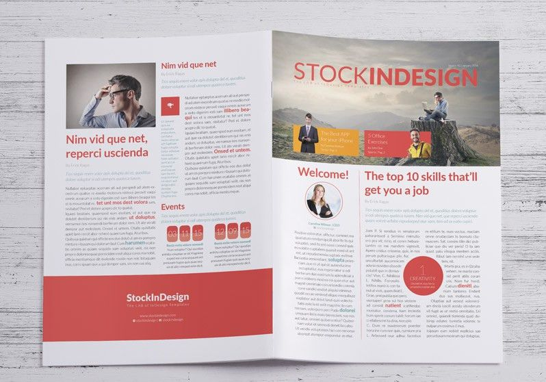 FREE Business Newsletter | StockInDesign