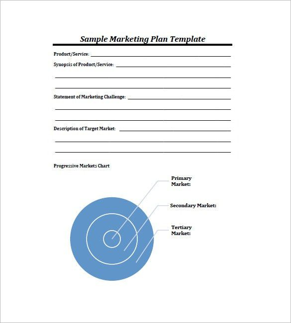 Simple Marketing Plan Template – 10+ Free Word, Excel, PDF Format ...