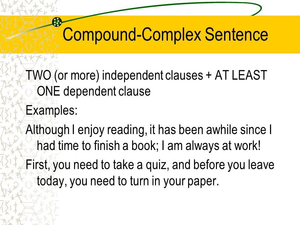 The Four Types of Sentences - ppt download
