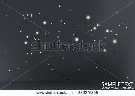 Vector Blue Flares Space Design Template Stock Vector 185233709 ...