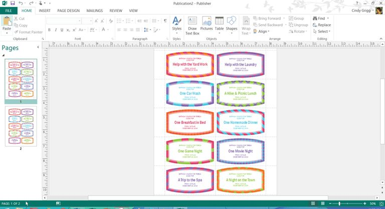 Mother's Day Templates for Microsoft Office