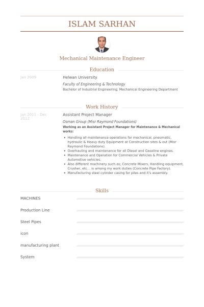 Assistant Project Manager Resume samples - VisualCV resume samples ...