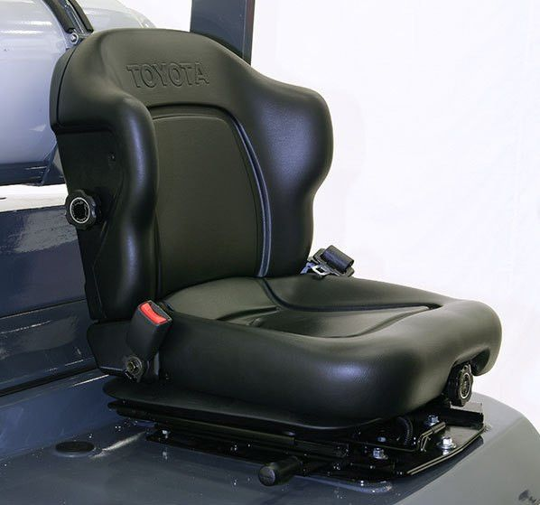 Toyota Ergonomic Seat Design | Toyota Forklifts