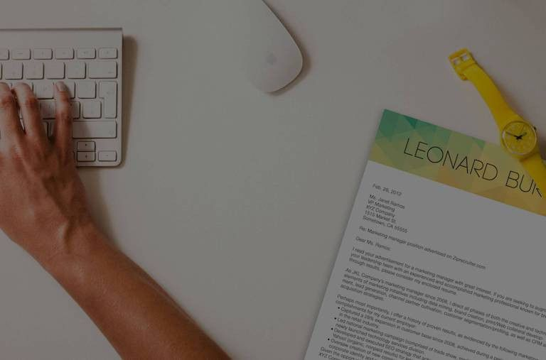 Kickresume   Create a perfect cover letter in minutes and land ...