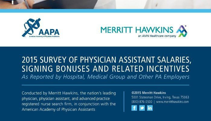 New Physician Assistant Salary Survey Completed! | John P. Carter ...