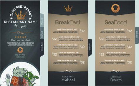 Restaurant menu price list template free vector download (14,601 ...