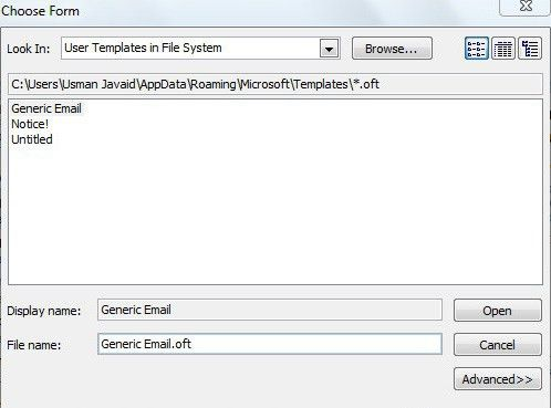How to Create and Use an Outlook Email Template
