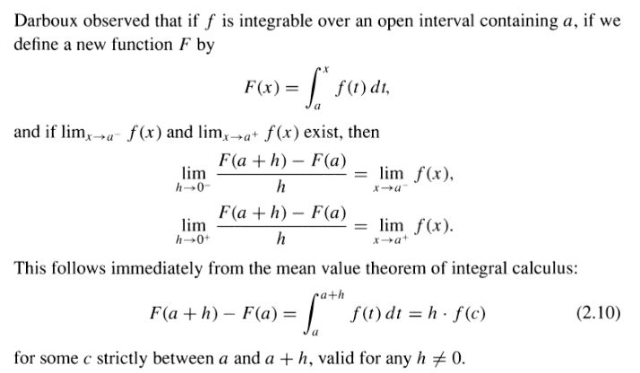 real analysis - Mean value theorem for Riemann-integrable ...