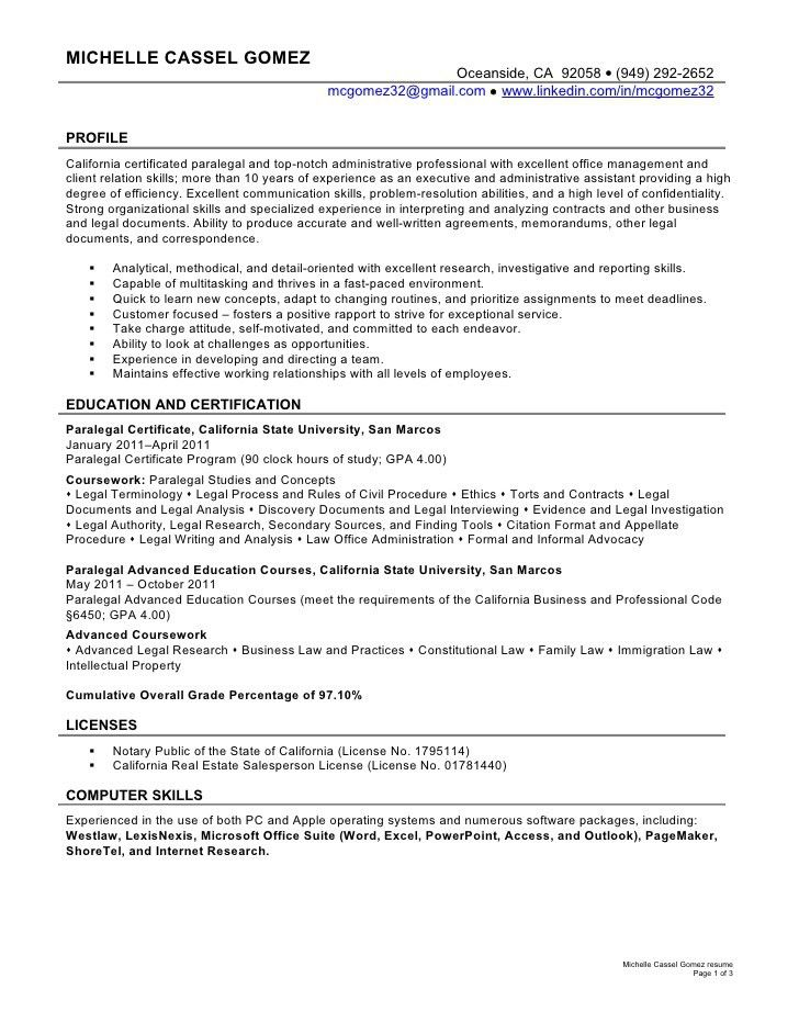 contract paralegal resume samples resume objective paralegal