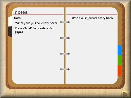 Journal Template For Word. 10 free journal templates for microsoft ...