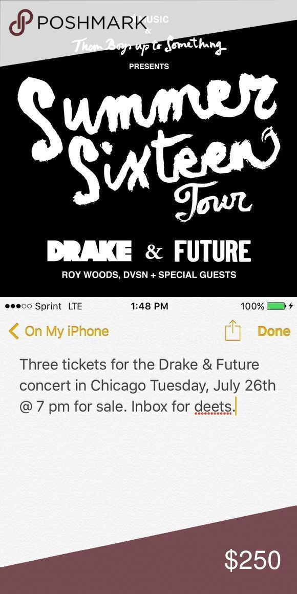 Best 25+ Drake tickets ideas on Pinterest | Shawn mendes concert ...