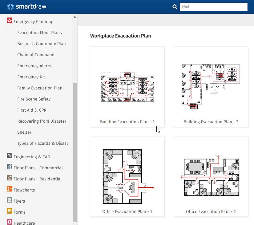Fire Escape Plan Maker | Free Online App, Templates & Download