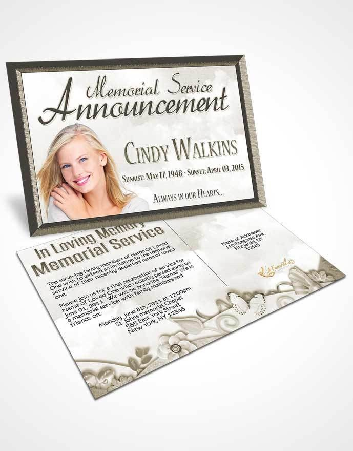 Death Announcement Cards Free | Resumesample.csat.co