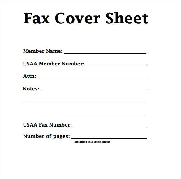 Fax Cover Sheet Microsoft Word. Free Download Basic Fax Cover ...